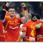 Julen Aginagalde celebra el triunfo ante Alemania. Foto: EFE