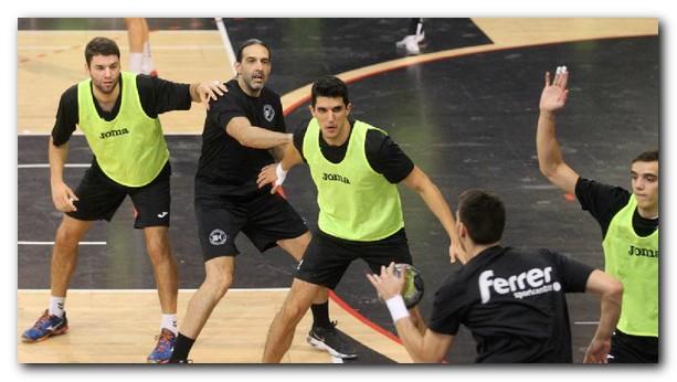 Imagen de un entrenamiento esta semana en el Palacio. Foto: Justo Rodríguez