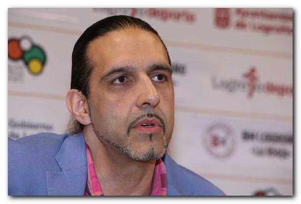 Garabaya durante su intervención frente a los medios. Foto: Juan Marín