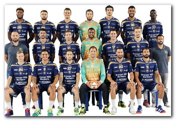 Equipo del Saint-Raphael Var Handball. Foto: EHF