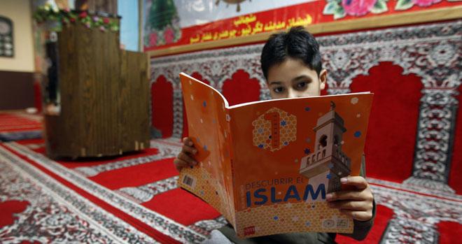 """Clases del """"Islam"""" en una mezquita de la calle Beatos Mena y Navarrete de Logroño"""