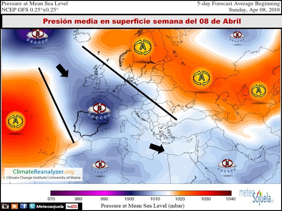 Modelos de presión. Meteosojuela