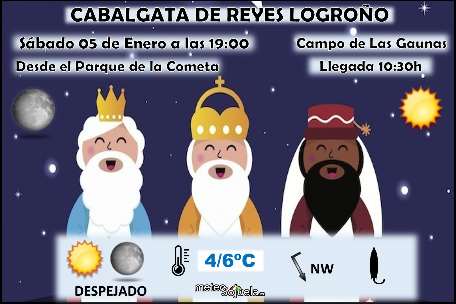 Cabalgata de Reyes Meteosojuela