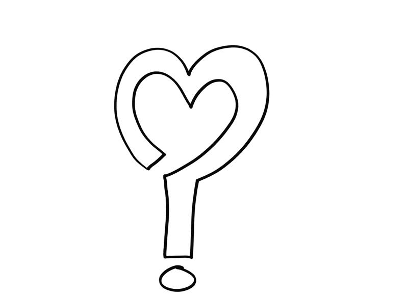 Amor, dibujo de Isabel Merino para el libro Minimapas