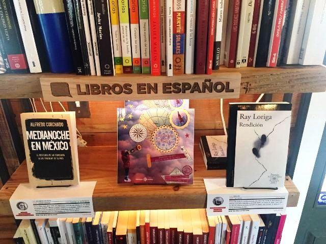 Libro Minimapas para Tormentas de Mercedes García Laso en The Wild Detectives, Dallas.