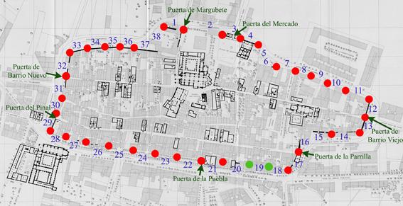 La historia de las murallas de Santo Domingo salta de los archivos ...