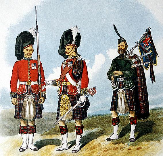 regimiento-de-escoceses-79th-del-clan-cameron