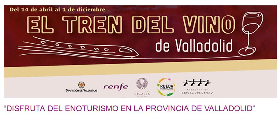 Promocional del Tren del Vino de Valladolid