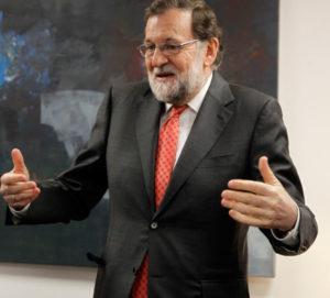 Mariano Rajoy, el pasado día 3, en Logroño. Foto de Justo Rodríguez