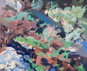 Paisaje, una obra de Blanco Lac, propiedad del Museo de La Rioja