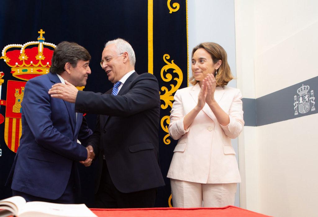 Toma de posesión del delegado del Gobierno, José Ignacio Pérez. Foto de Sonia Tercero