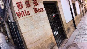 El Villa Rica de Logroño, con sus dos puertas