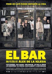 Cartel de la película 'El bar'