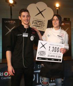 Ganadora del mejor pincho de la edición 2016. Foto de Juan Marín