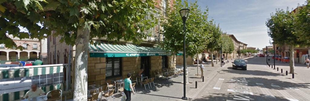Bar El Montañés, de Casalarreina. Google Maps.
