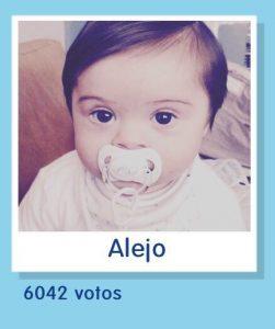 Alejo en el Concurso Nestlé Bebé 2018