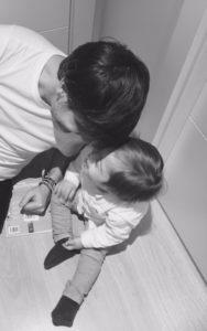 Alejo y su complicidad con papá