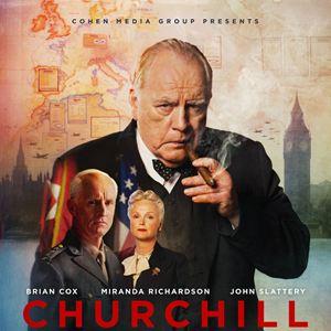 "Cartel de la película ""Churchil"""