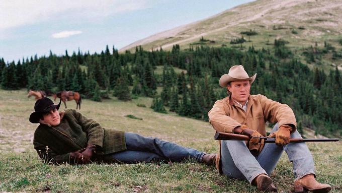 Fotograma de la película Brockback mountain