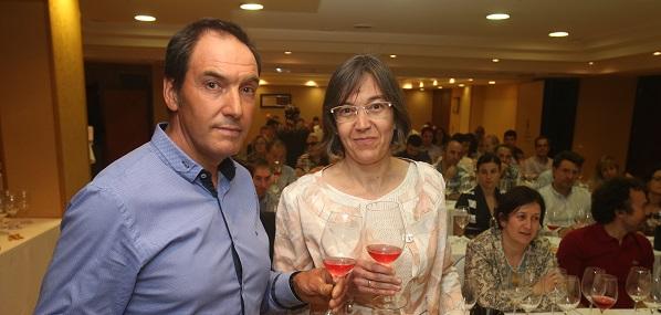 Amador y Ana Escudero, en una imagen de Juan Marín