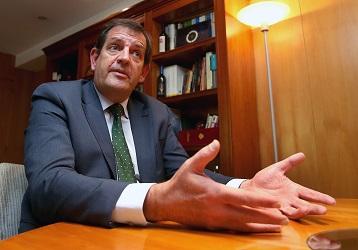 Ínigo Nagore, en una foto de Juan Marín
