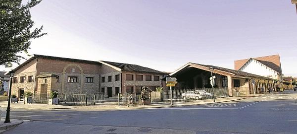 Bodegas Riojanas, en una imagen de mi compañero Miguel Herreros