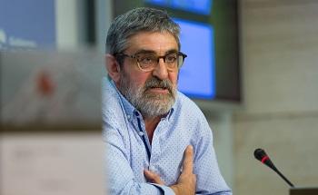 El profesor Emilio Barco, en una imagen de Sonia Tercero